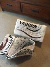 Hockey Goalie Vaughn Goalie Catcher And Blocker Set