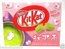 Nestle Kit Kat Chocolate Green Tea Sakura Matcha Maccha Cherry Blossom 1bx JAPAN
