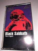 BLACK SABBATH: Born Again US WB Heavy Metal Cassette Tape 1983