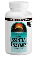 Source Naturals Essential Enzymes, Digestion Support, 500 mg, 120 Capsules
