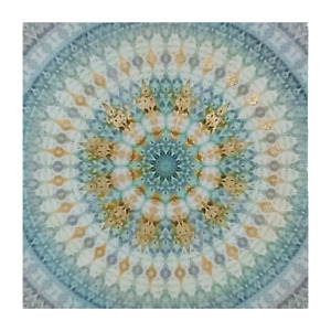 Painting Cosmos Print Artwork Wall Decor Canvas Stretched Wood Frame 100x100cm