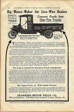 1916 Dearborn Motor Truck Ad/ For Model T One-Ton Conversion Dealer Ad