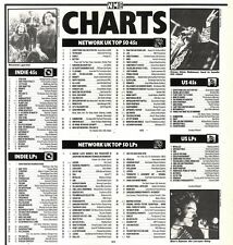 7/9/91 Pgn60 NME CHARTS PAGE : TEENAGE FANCLUB WERE NO.1
