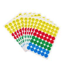 10 Sheets Smiley Faces School Teacher Reward Merit Stickers For Children Kid