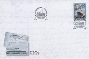 Titanic 100 Year White Star Line Åland Aland Finland Mint FDC 2012