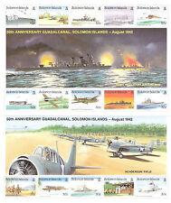 Islas SALOMÓN nº 752/766** en 2 H.B. Batalla de Guadalcanal