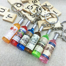 Cute Bottle Keychain Key Chain Ring Keyring Keyfob Car Keychain Pendant Gifts