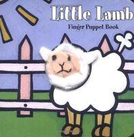 Little Lamb: Finger Puppet Book (Little Finger Puppet Board Books) by Chronicle