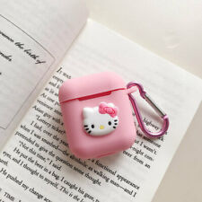Cute Pink Hello Kitty Strap Shockproof Case Cover Skin for Airpods Case Bag Gift