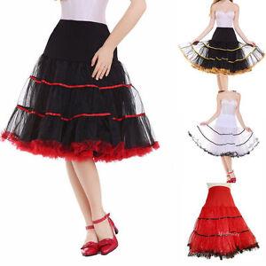 """18 Colors 1950S Short Petticoat 50s Vintage Rockabilly 26"""" Long Net Underskirt"""