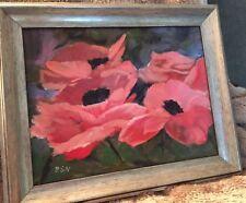 Peonies Acrylic Painting
