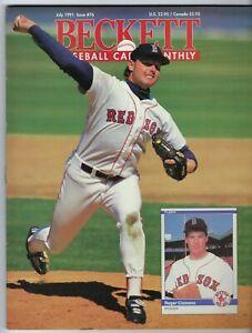 Beckett Baseball Card Monthly July 1991 #76 - Roger Clemens - Brooks Robinson