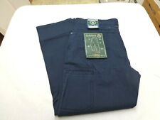 GH BASS  & Co. 36x30 Groundwork 5 Pocket Pants Utility Navy Blue  New With Tags