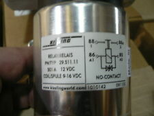 KISSLING 29.511.11 500A RELAY 12V COIL SPULE 9-16VDC