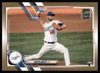 2021 Topps Series 1 Base Gold #270 Mitch White RC /2021 - Los Angeles Dodgers