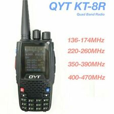 QYT KT-8R Quad Band Two-Way Radio Ham Transceiver Color Display Walkie Talkie 5W