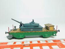 BM180-0,5# Pocher H0/DC Guss-Panzerwagen mit Schneepflug, 3-mal Federpuffer
