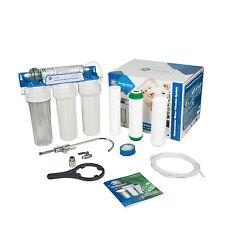 3 Stufen Wasserfilter mit Kapillarmembrane Alternativ zu Umkehrosmose Anlage
