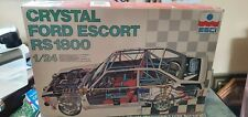1/24 ESCI FORD ESCORT CRYSTAL BRITISH AIRWAYS RARE