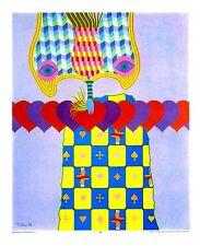 Heinz Troekes Glücksspiel Poster Kunstdruck Bild 54x45cm - Kostenloser Versand