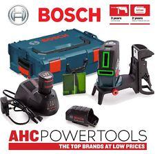 Bosch GCL250CGB Laser vert avec support en L-Boxx (2 x 2Ah batteries)