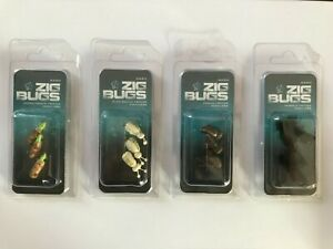 Nash Zig Bugs - Cased Caddis / Corixia / Glow Beetle / Tadpole - Carp Fishing