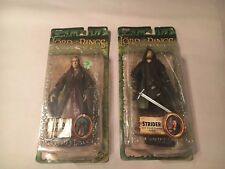 Lord of the Rings Fellowship Strider w/Sword Slashing Action Elrond of rivendell