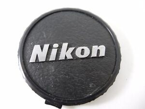 NIKON SNAP CAP FRONT LENS CAP 62MM WITH SILVER LOGO ONE OF A KIND