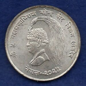 Nepal, FAO 1968 Silver 10 Rupees (Ref. c8351)