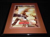 TNA Impact 2006 Spike Framed 11x14 ORIGINAL Vintage Advertisement