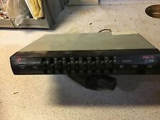 VINTAGE PRESTIGE 7-BAND GRAPHIC CAR AUDIO EQUALIZER with CD INPUT SUB *UNTESTED