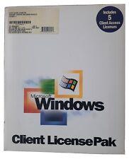Microsoft Windows 2000 Server 5 CALS - OEM Software Product - NEW