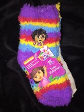 3 pack Nickelodeon Dora the Explorer Fuzzy Socks Size 18-24 months