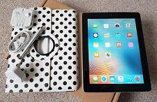 ** PERFECT ** Apple iPad 2 64GB, Wi-Fi, 9.7in - Black. New Accessories+ Bundle.