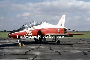 RAF 4 FTS Hawker Siddeley Hawk T.1 XX295 (1986) Photograph
