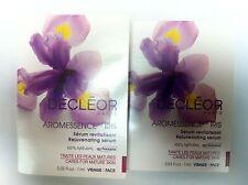 Decleor Aromessence Iris Rejuvenating Serum .003OZ 1ml Sample LOT OF 2