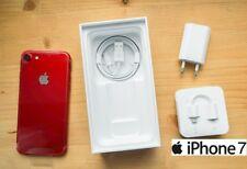 APPLE IPHONE 7 128GB  Libre RoJo  RED - Con la Caja y Todos los Accesorios