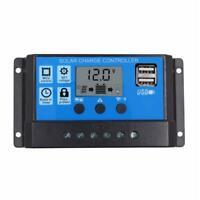 10A MPPT LCD Solar Laderegler Solarregler Regulator Controller PWM 12V/24V UCB