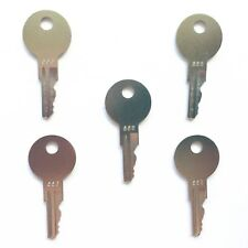 (5) Ford New Holland Gradall Hyster Lull Yale Forklift Ignition Keys PK556