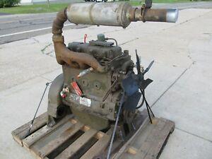 DD198 4 Cylinder Hercules Diesel Engine Core Military surplus By Sw-Ironman