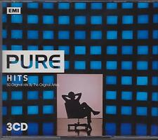 PURE HITS - VARIOUS ARTISTS on 3 CD's - NEW -