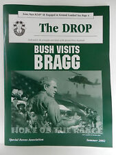 GREEN BERET, THE DROP MAGAZINE, SUMMER 2002 ISSUE, SPECIAL FORCES ASSOCIATION
