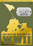 The Definitive History of WWII (DVD, 2005, 6-Disc Set) FREE SHIPPING