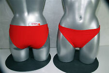bikini maillot de bain rouge tomate (bas) ERES jane T 42-44 NEUF ÉTIQUETTE v 95€