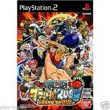 Used PS2 One Piece Grand Battle Rush japan import game