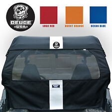 Deuce USA Polaris 2014-2008 RZR (2) 1/2 Top StripeScreen Set 570,800,800s&900XP