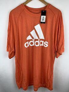 Adidas Men's size 2XL CLIMALITE Orange NEW