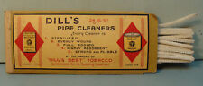 Vintage 1940's Dill's Pipe Cleaners Tobacco Co Original package 24 for 5 Cents