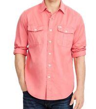 Polo Ralph Lauren Men's Long Sleeve Beach Twill Shirt Medium