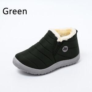 Snow Boots Women Shoes Warm Plush Fur Ankle Winter Female Waterproof Casual Wear